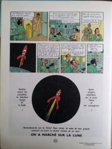 Extrait de Tintin (Historique) -16B40- Objectif Lune