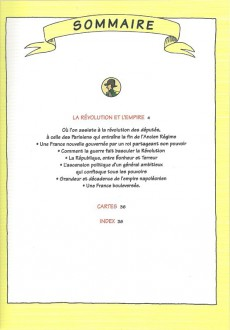Extrait de L'histoire de france en bd (mille bulles de l'école des loisirs) -5- La Révolution ... et l'Empire !