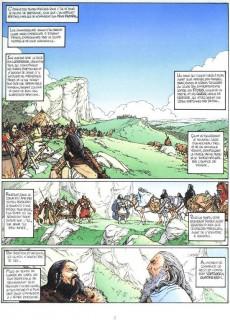 Extrait de Arthur (Chauvel/Lereculey) -1a83- Myrddin le fou