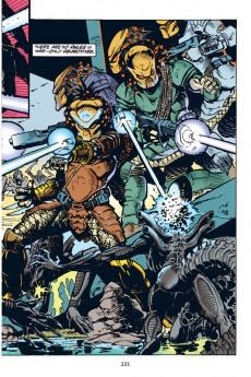 Extrait de Aliens vs. Predator Omnibus (2007) -INT01- Aliens vs. Predator Omnibus Volume 1