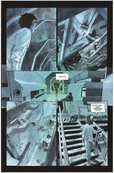 Extrait de Descender (Image comics - 2015) -INT01- Volume One - Tin Stars