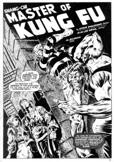 Extrait de Deadly Hands of Kung Fu (The) (Marvel - 1974) -2- Shang-Chi: Master of Kung Fu