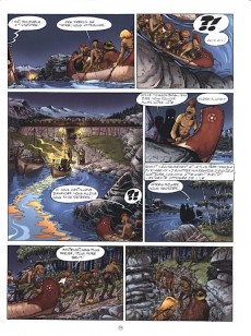 Extrait de Les mémoires de Mathias -3a- Les Dieux du lac
