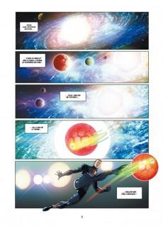 Extrait de PSG Heroes -2- Péril Galactique