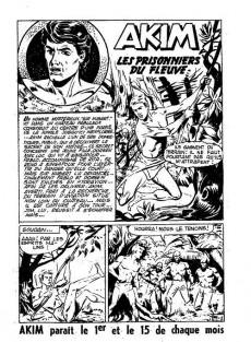 Extrait de Akim (1re série) -99- Les prisonniers du fleuve