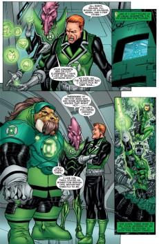 Extrait de War of the Green Lanterns: Aftermath (2011) -INT- War of the Green Lanterns: Aftermath
