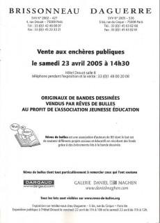 Extrait de (Catalogues) Ventes aux enchères - Divers - Brissonneau & Daguerre - samedi 23 avril 2005 - Paris hôtel Drouot