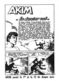 Extrait de Akim (1re série) -92- Le dernier vol