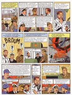 Extrait de Blake et Mortimer (Les Aventures de) -3c2000- Le Secret de l'Espadon - Tome 3