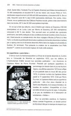 Extrait de BDQ -2- Histoire de la bande dessinée au Québec - Tome 1 : des origines à 1979