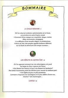 Extrait de L'histoire de france en bd (mille bulles de l'école des loisirs) -2a15- De la Gaule romaine... à l'an mil !