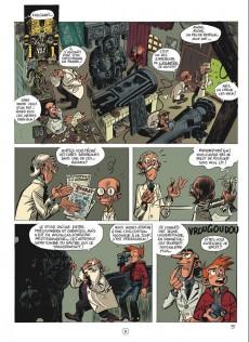 Extrait de Spirou et Fantasio (Une aventure de.../Le Spirou de...) -1b- Les géants pétrifiés