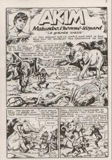 Extrait de Akim (3e série) -15- Matumbo, l'homme-léopard (1 et 2)