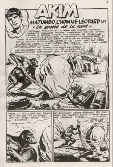 Extrait de Akim (3e série) -16- Matumbo, l'homme-léopard (3 et 4)