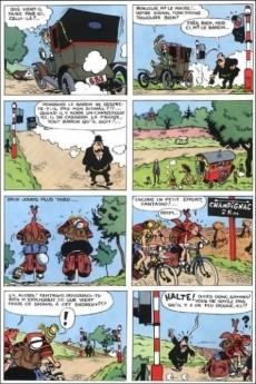 Extrait de Spirou et Fantasio -2i14- Il y a un sorcier à champignac