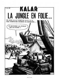 Extrait de Kalar -55- La jungle en folie