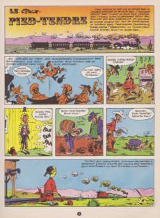 Extrait de Lucky Luke -33- Le Pied-Tendre