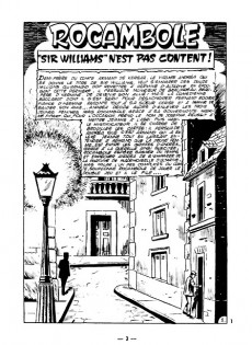 Extrait de Rocambole -4- Sir William n'est pas content