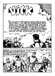 Extrait de Vick -2- Le chevalier de l'espace