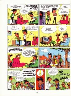 Extrait de Modeste et Pompon (Franquin) -1'Cong- 60 aventures de Modeste et Pompon