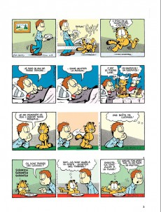 Extrait de Garfield -24c2011- Garfield se prend au jeu