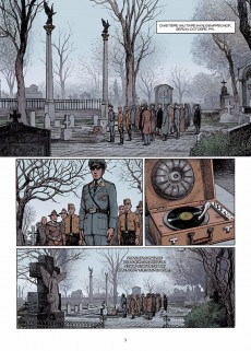 Extrait de Lignes de front (Pécau) -8- Enfer blanc sur Leningrad