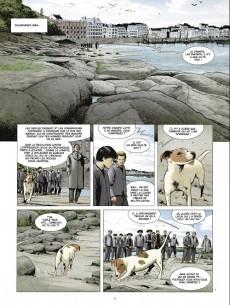 Extrait de Les chasseurs d'écume -5- 1934, le crâne de la plage