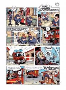 Extrait de Les pompiers -15- Tonnerre de braise
