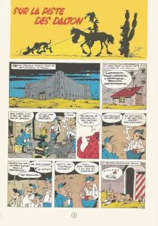 Extrait de Lucky Luke -17b86- Sur la piste des Dalton