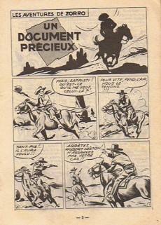 Extrait de Zorro (2e Série - SFP puis SFPI) -50- Un document précieux