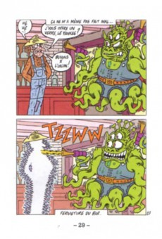 Extrait de Mini-récits et stripbooks Spirou -MR4044- Le nettoyeur de Tucumcari, Nouveau Mexique