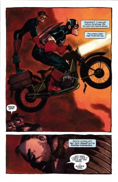 Extrait de Captain America: White (2008) -1- You can't take it with you
