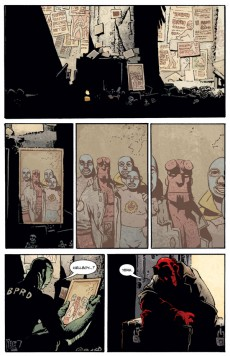 Extrait de Hellboy (1994) -INT11- The bride of hell and others