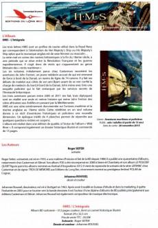 Extrait de H.M.S. - His Majesty's Ship -INT- Intégrale