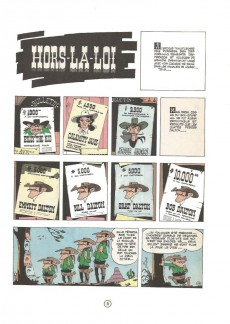 Extrait de Lucky Luke -6c85- Hors-la-loi