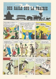 Extrait de Lucky Luke -9b77- Des rails sur la prairie