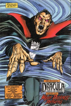 Extrait de Dracula: Lord of the Undead (1998) -1- When Darkness Returns