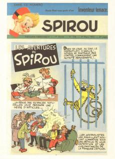 Extrait de Spirou et Fantasio -9- (Int. Rombaldi) -3- Tome 3