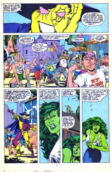 Extrait de Sensational She-Hulk (The) (1989) -9- Burn Out!