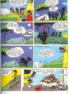 Extrait de Modeste et Pompon (Franquin) -73- Modeste et Pompon R3