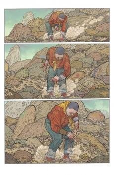 Extrait de The shaolin Cowboy (Glénat) - Shemp Buffet