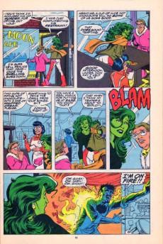 Extrait de Sensational She-Hulk (The) (1989) -13- Village Of The Darned!