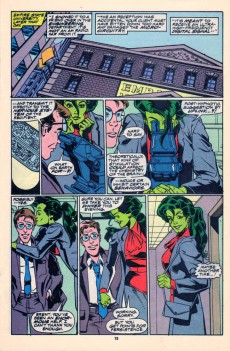 Extrait de Sensational She-Hulk (The) (1989) -18- The Dentist In The Iron Mask!
