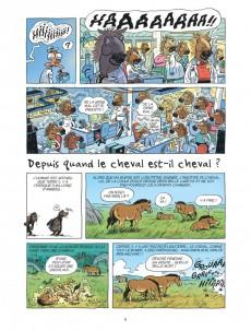 Extrait de Ça m'intéresse (Enquête du labo/Enquête Spéciale) -2- Le Cheval - Histoire d'une passion