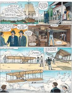 Extrait de Cinebook Recounts -3- The Wright Brothers