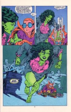 Extrait de Sensational She-Hulk (The) (1989) -58- Shock The Shulkie