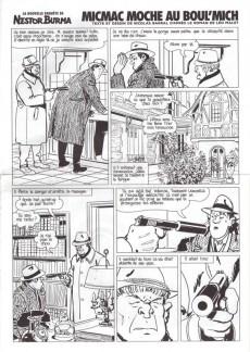 Extrait de Nestor Burma (Feuilleton) -3- Micmac moche au Boul'Mich - Numéro 3