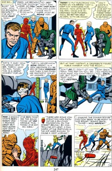 Extrait de Marvel Masterworks: The Fantastic Four (2009) -INT01- Volume 1
