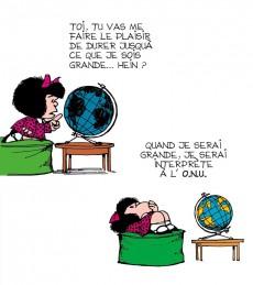 Extrait de Mafalda (La petite philo de) - l'injustice