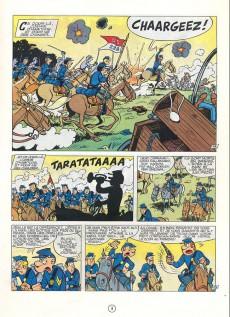 Extrait de Les tuniques Bleues -11a1977- Des bleus en noir et blanc